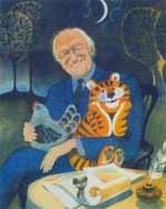 Дональд Биссет, портрет работы художника Виктора Чижикова к книге «Забытый день рождения»