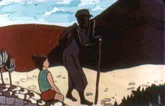 А в это время у фонтана остановилась негритянка: