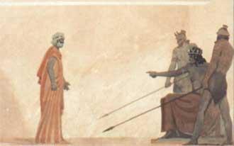 Дедал и Икар миф древней греции
