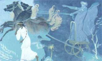 Деметра и Персефона. миф древней греции