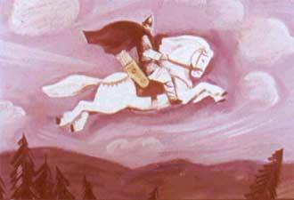 Первый бой Ильи Маромца. Русские былины.