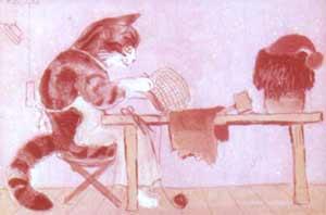 Кот скорняк Маршак