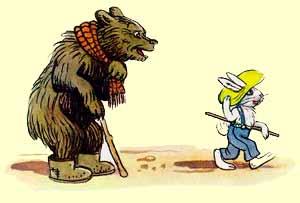 Кролик, который никого не боялся Пляцковский