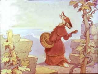 Лисица и виноград Крылов