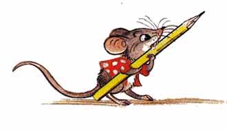 Мышонок и карандаш Сутеев