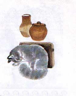 Притча о молочке, овсяной кашке и о сером котишке Мурке. Д. Н. Мамин-Сибиряк