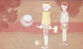 Мальчика звали Томми, а девочку - Анника.