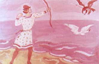 Коршун в море кровь пролил
