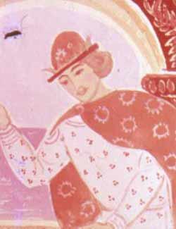 К славному царю Салтану;