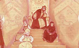 Царь Салтан сидит в палате