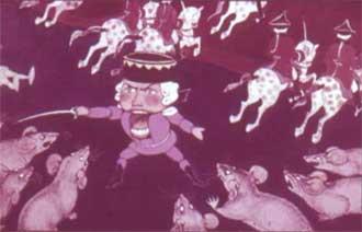 Щелкунчик и мышиный король. Битва. Э.Т.А. Гофман