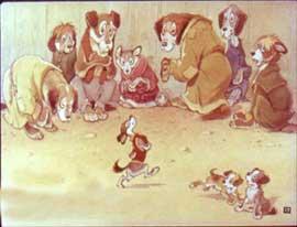Слон и Моська. Басни Крылова