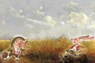 Заяц и Ёж. Братья Гримм