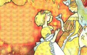 Мачеха, сестры, и придворные узнали в Золушке таинственную красавицу вчерашнего бала