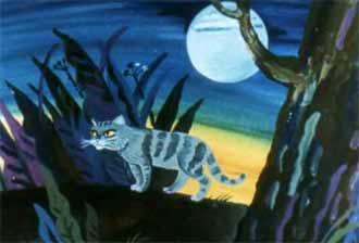 Кошка, гулявшая сама по себе. Р. Киплинг