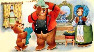 Девочка и три медведя.