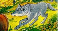 Прибежал волк и стучится