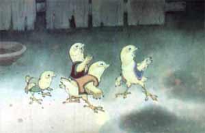 аскучали цыплята без солнечного света.